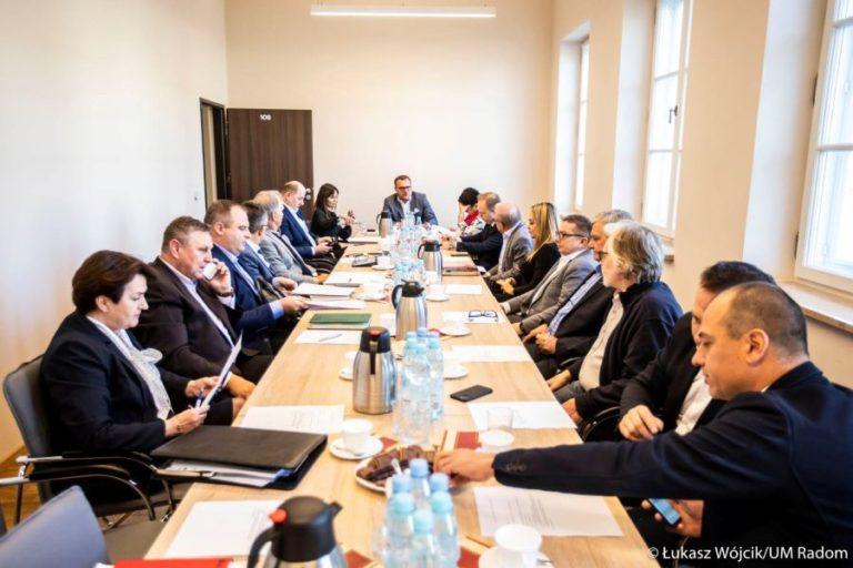 II posiedzenie Rady Gospodarczej przy Prezydencie Miasta Radomia