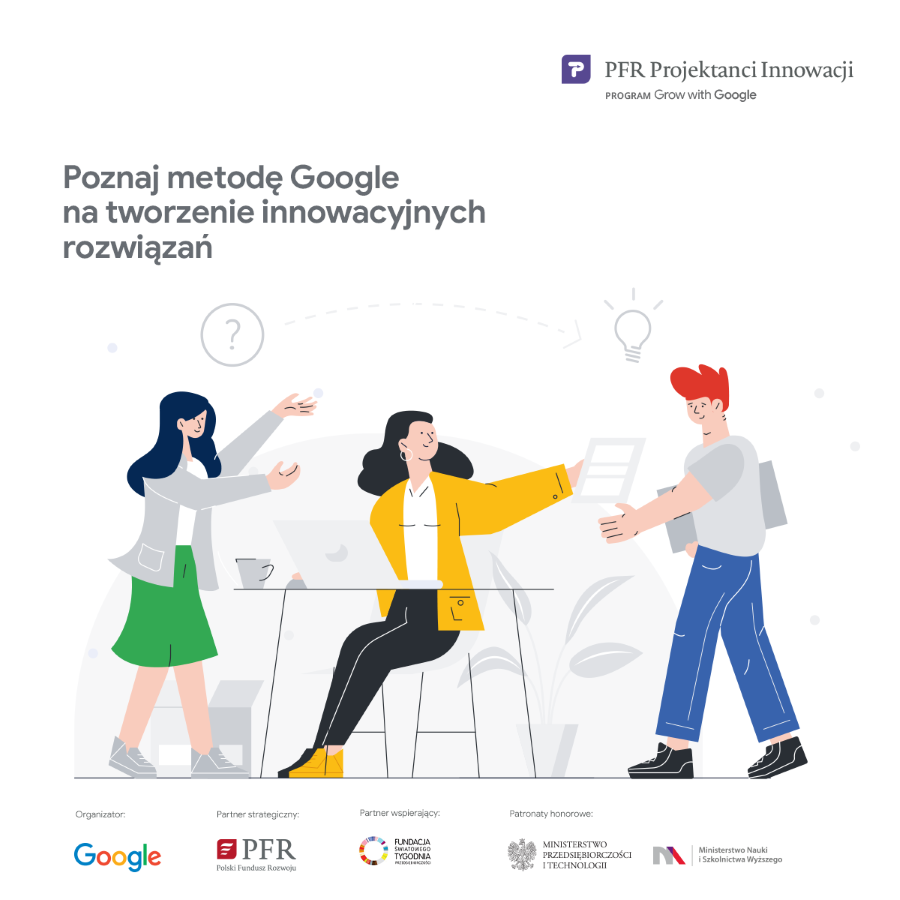 """Warsztaty """"Projektanci Innowacji PFR"""" - Radom, 18 listopada 2019"""